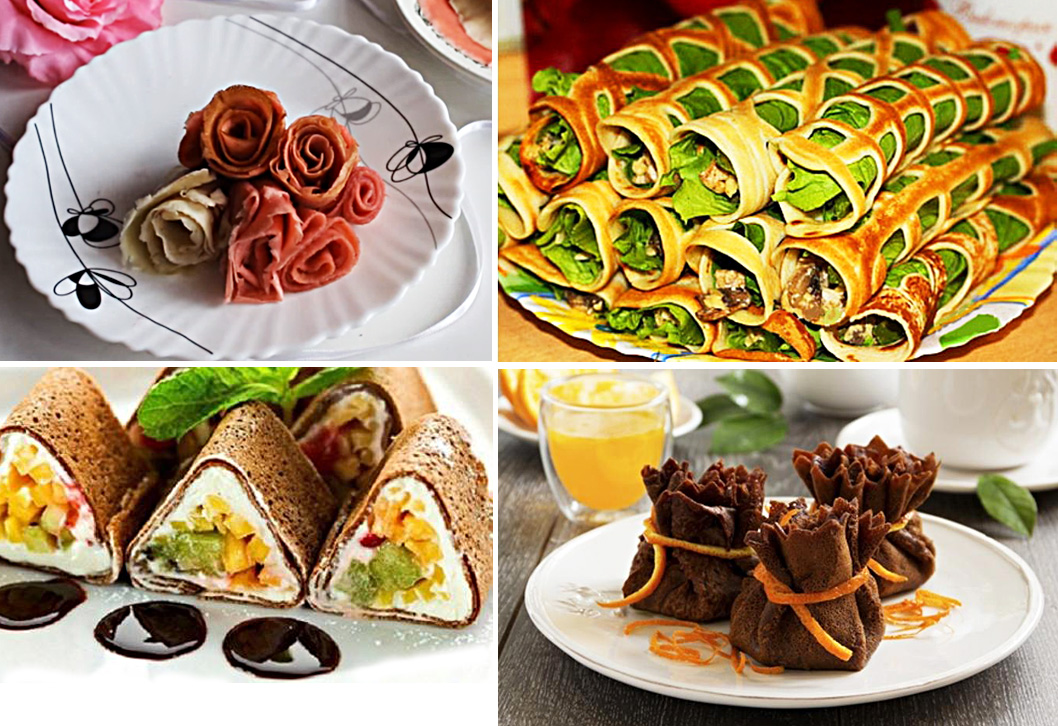 интересные блюда для праздничного стола с фото полностью