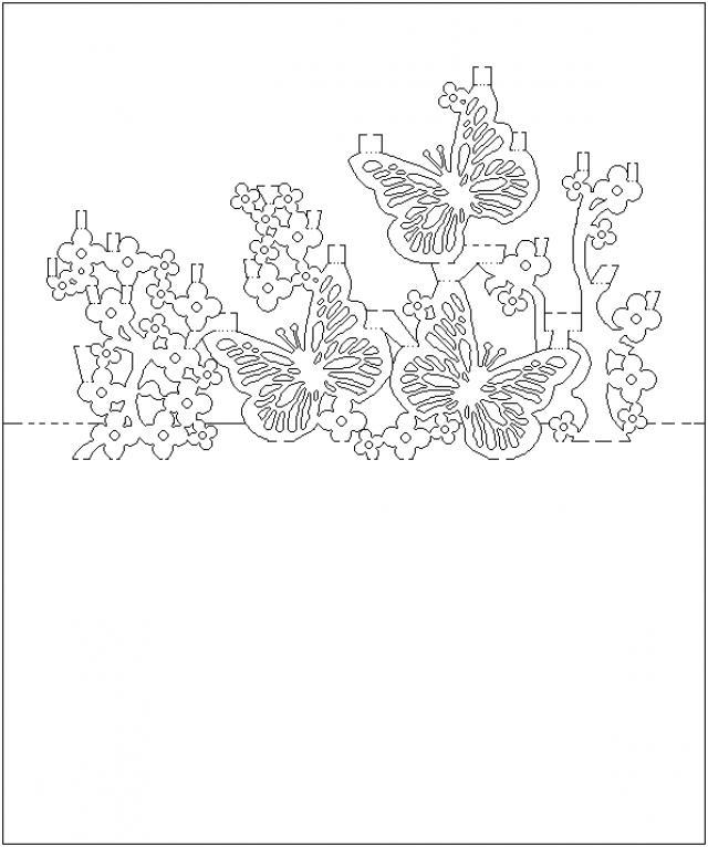 Открыток, открытки объемные из вырезанной бумаги