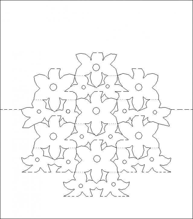 Шаблоны для объемных открыток с 8 марта