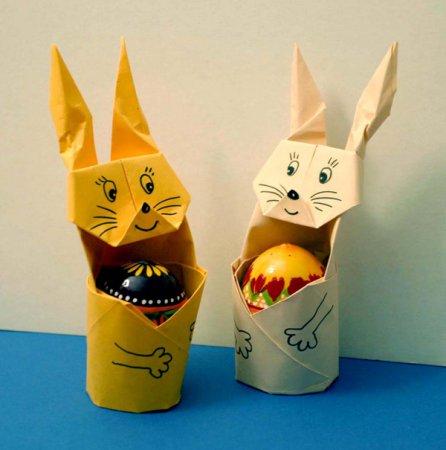 zaec_bumaga1 Пасхальный кролик (заяц). Рецепты выпечки и поделки своими руками