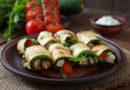 Рулетики из кабачков с разными начинками – 6 самых вкусных рецептов
