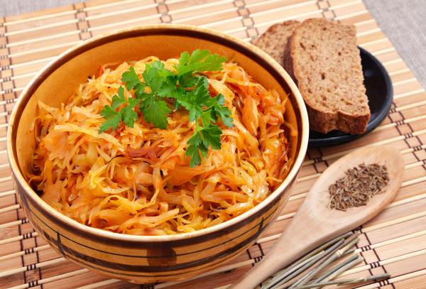Капуста тушеная – очень вкусные рецепты