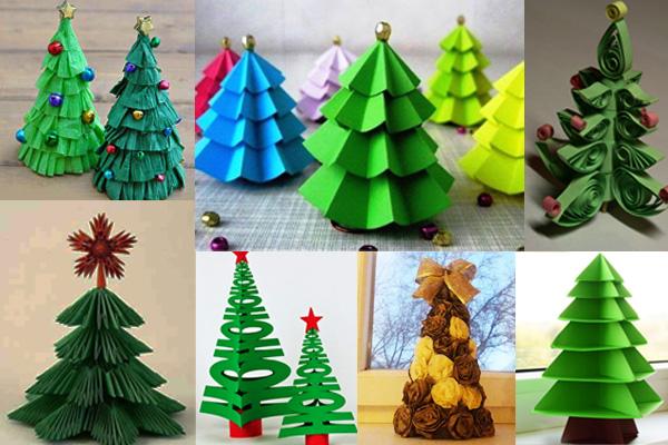 Как можно сделать елку на новый год фото 341