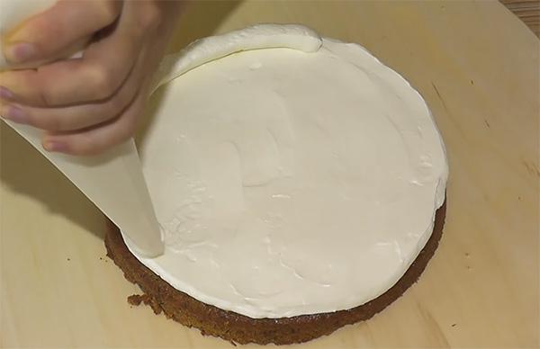 Торт морковный пошаговое приготовление с фото