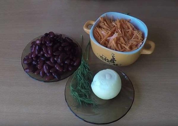 Салат с белой фасолью и помидорами - рецепт пошаговый с фото