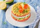 Салаты с красной рыбой – 10 рецептов с фото простых и вкусных