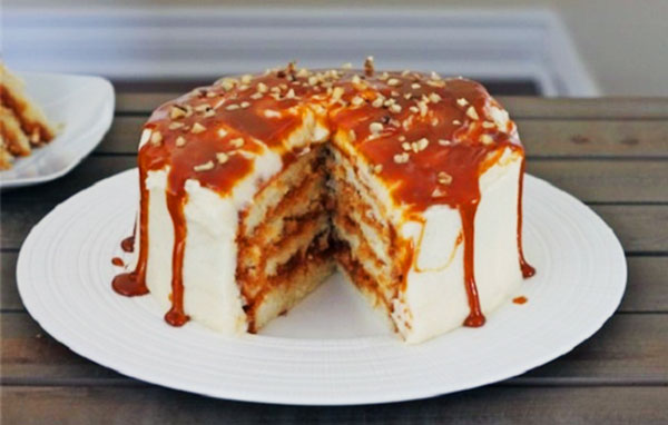 Торт со сгущенкой простой – 10 рецептов вкусного торта с использованием сгущенки