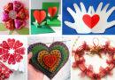 Поделка валентинка из бумаги и подручных материалов для детей в детском саду – мастер-класс