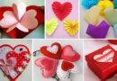 Валентинки своими руками: самые простые и красивые поделки на 14 февраля