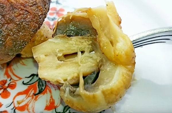 Шашлык из шампиньонов на мангале и в духовке, рецепты маринадов