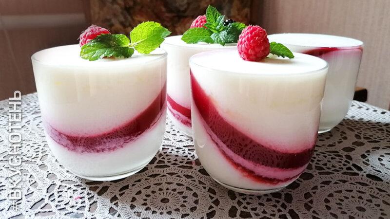 Десерты без выпечки с фруктами, ягодами и желе – 7 простых и вкусных желейных десертов с ягодами