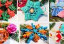 Новогодние игрушки своими руками: красивые поделки на ёлку 2021